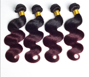 1B/99J Custom Made Bundle Virgin Human Hair