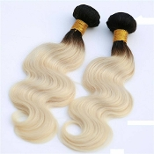 1B/Blonde Custom Made Bundle Virgin Human Hair