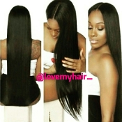 Virgin Human Hair Cambodian Straight Full Lace Wig