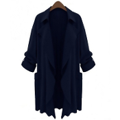 Fashion Trench Coat 1 (Blue)
