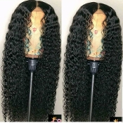 #0000000000006 Lace Front Wig Deep Wave Virgin Human Hair