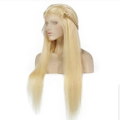 #00000000B22 #613 Lace Front Virgin Human Hair Wig