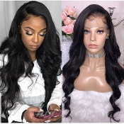 #00000000A1 Lace Front Body Wave Virgin Human Hair Wig