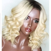 #00000000B33 Lace Front Blonde Virgin Human Hair 7