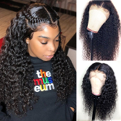 #0000000000000008 Lace Front Deep Wave Virgin Human Hair Wig