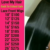 #00000000000000001 Lace Front Wig Virgin Human Hair