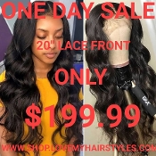 ###3 Lace Front Glueless Preplucked Virgin Human Hair Wig