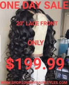 ###2 Lace Front Glueless Preplucked Virgin Human Hair Wig