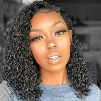 ##########0002 Preplucked Glueless Invisible Lace Front Wig