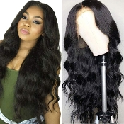 #########006 Preplucked Glueless Invisible Lace Front Wig