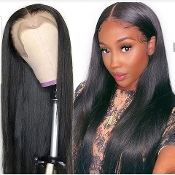 #########0006 Preplucked Glueless Invisible Lace Front Wig
