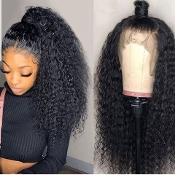 #########0009 Preplucked Glueless Invisible 360 Lace Wig